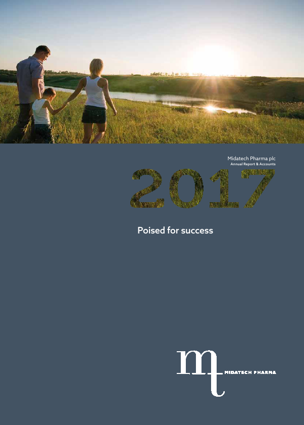 Midatech Pharma Plc   annual report