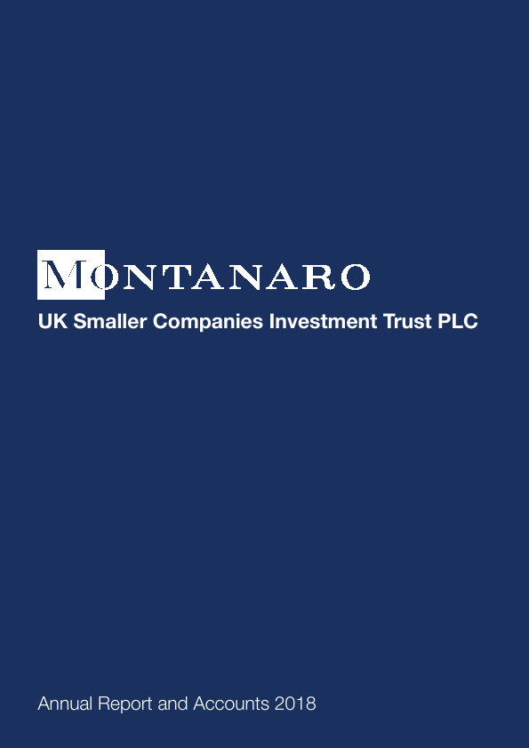Montanaro UK Smaller Companies Investment Trust   annual report
