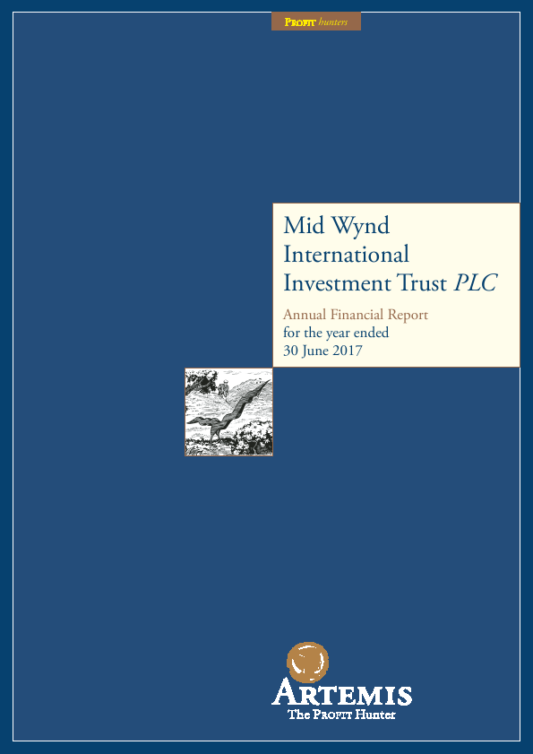 Mid Wynd International Investment Trust Plc   annual report