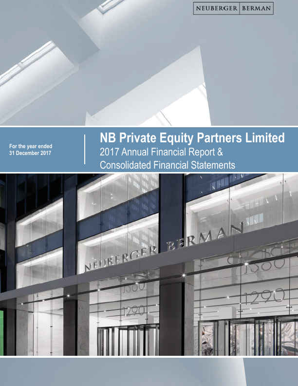NB Private Equity Partners   annual report