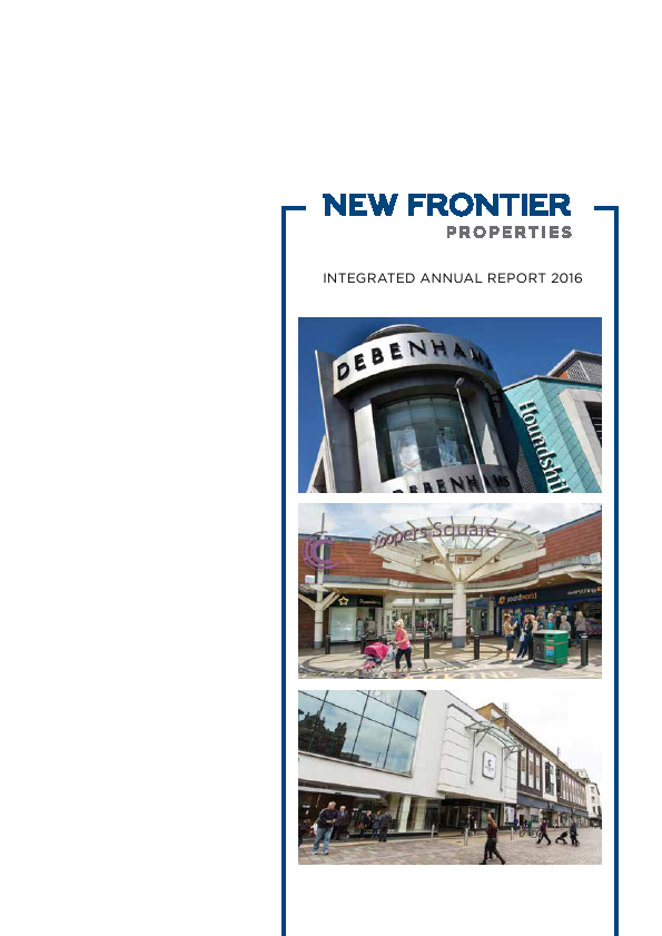 New Frontier Properties   annual report