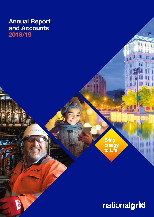 National Grid   annual report