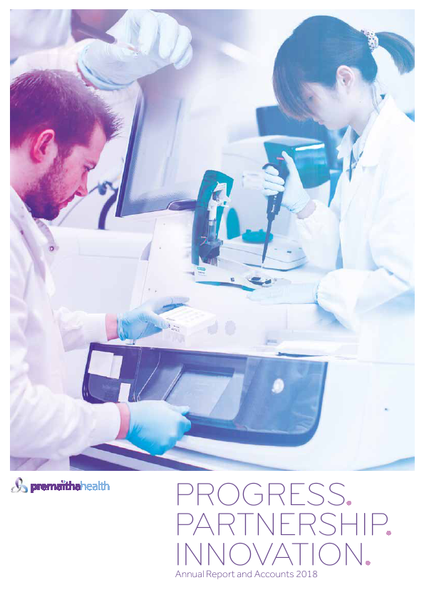 Premaitha Health Plc (formally ViaLogy PLC)   annual report