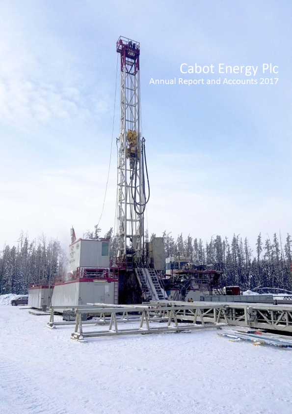Cabot Energy (previously Northern Petroleum)   annual report