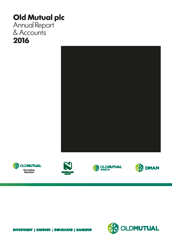 Old Mutual Plc   annual report