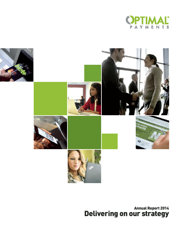 Optimal Payments Plc   annual report