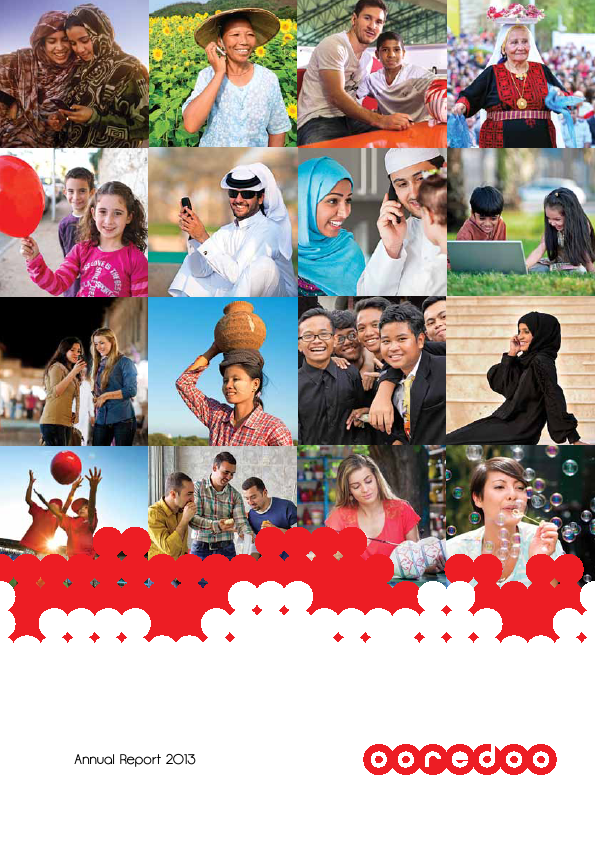 Ooredoo Qsc   annual report