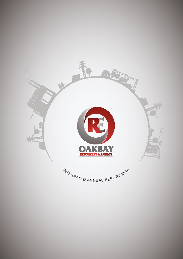 Oakbay Resources And Energy Limited   annual report