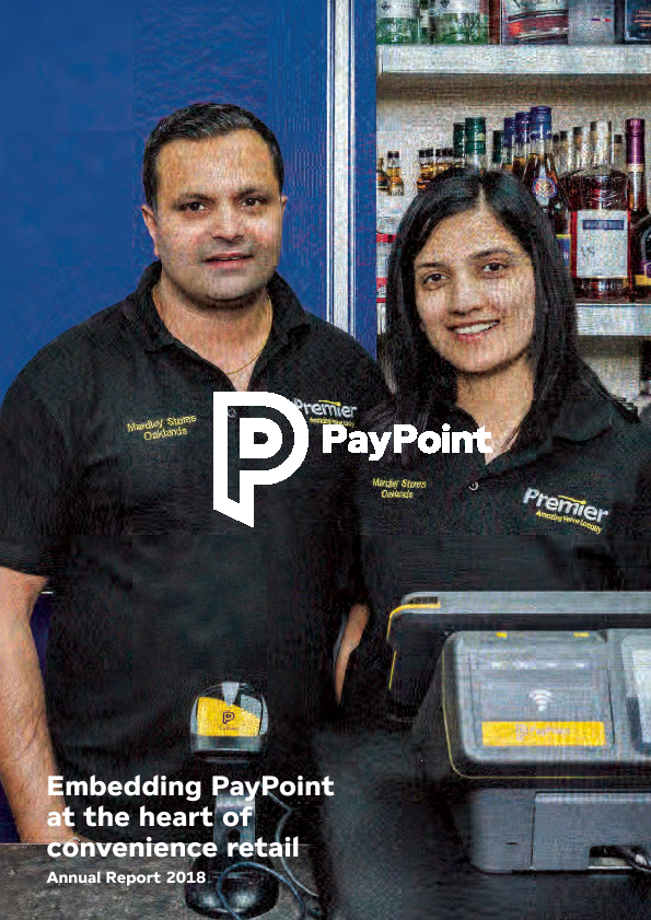 Paypoint   annual report
