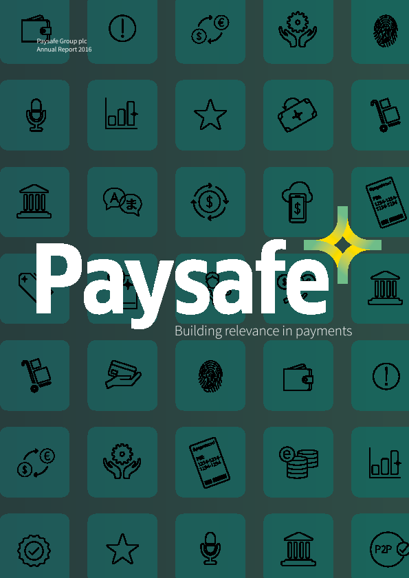 Paysafe Group (formallly Optimal Payments Plc)   annual report