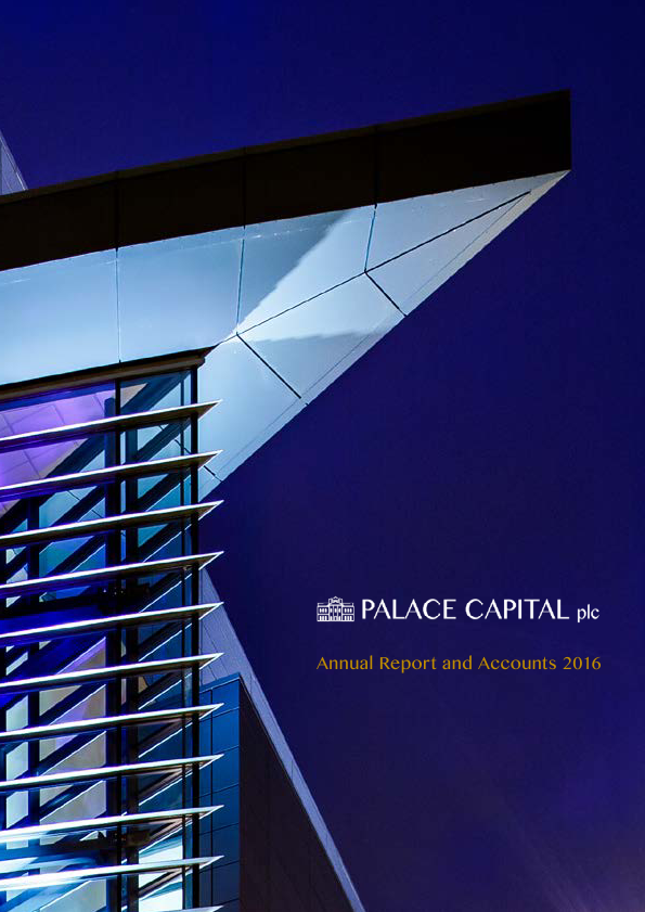 Palace Capital Plc   annual report