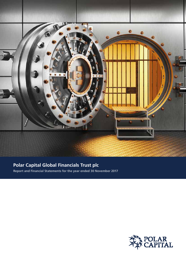 Polar Capital Global Financials Trust   annual report