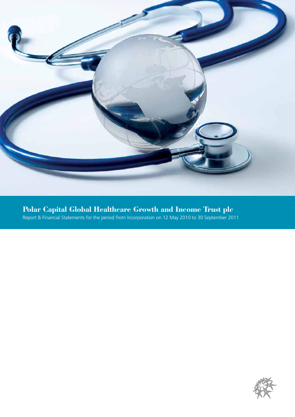 Polar CAP Global Healthcare Growth&Income Trust   annual report