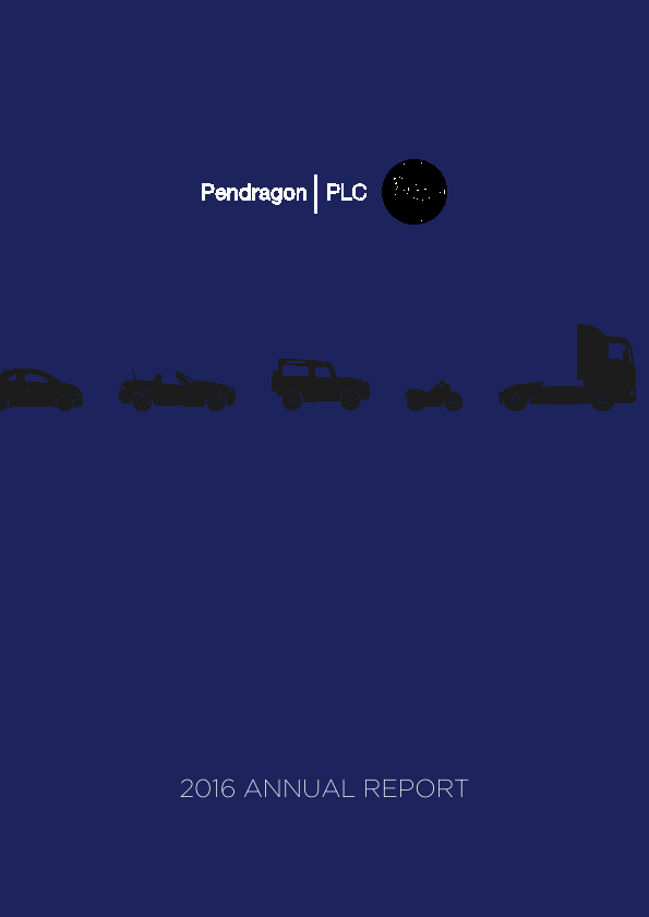 Pendragon Plc   annual report