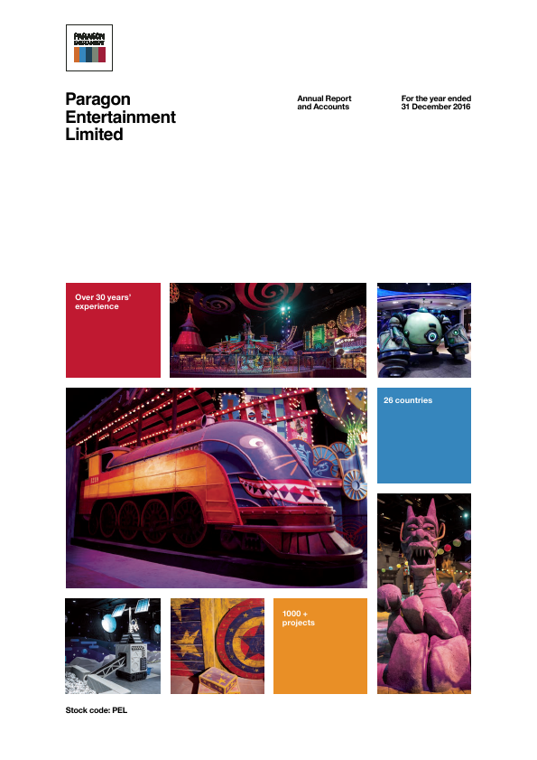 Paragon Entertainment Ltd   annual report