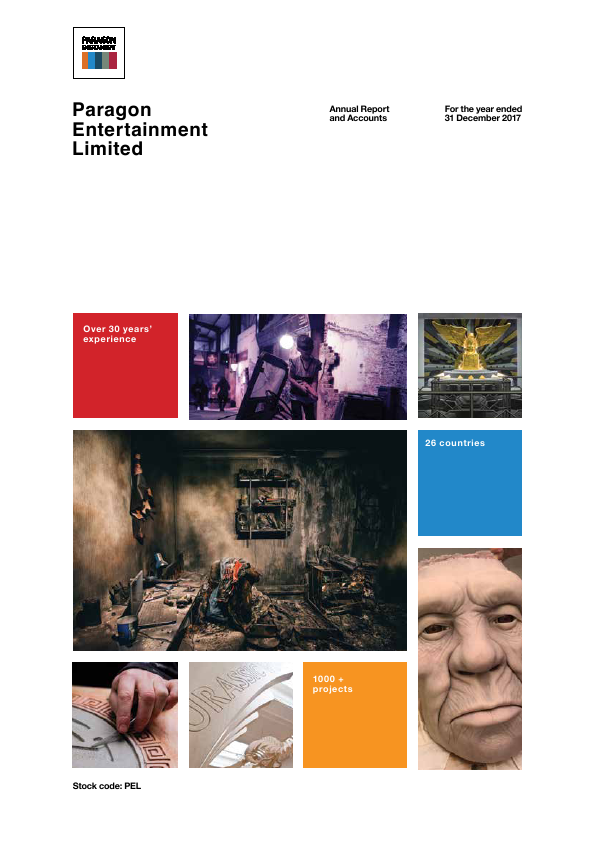 Paragon Entertainment   annual report