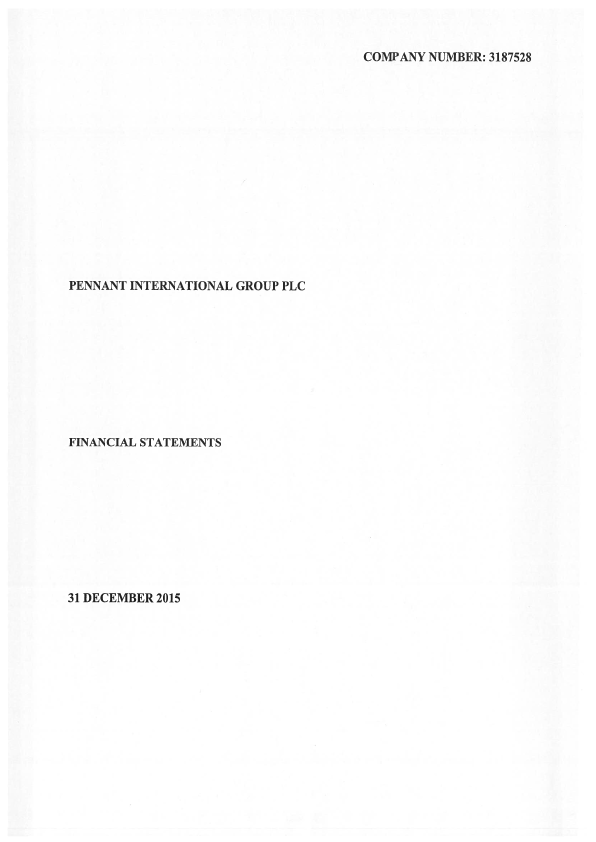Pennant International Group   annual report