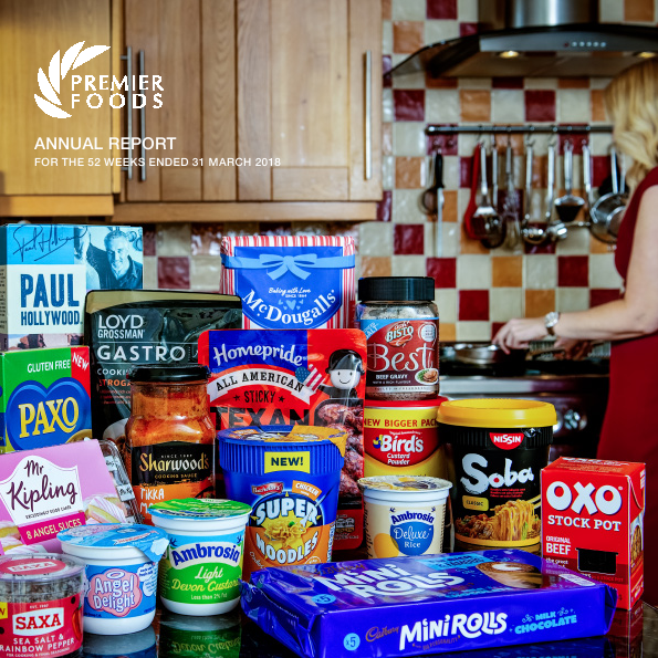 Premier Foods Plc   annual report