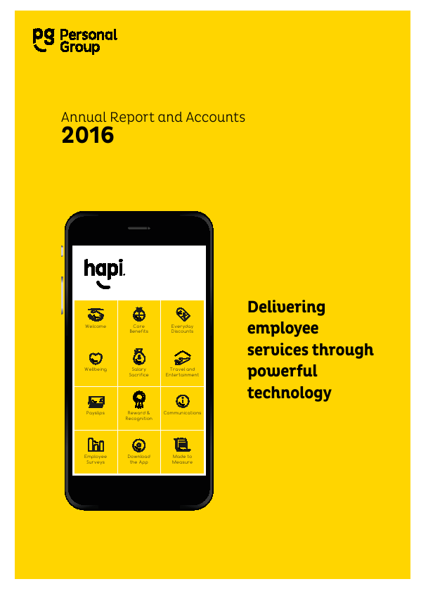 Personal Group Holdings   annual report