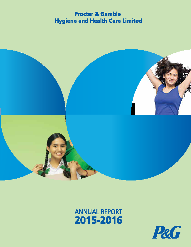 Procter and Gamble Hygiene and Health Care   annual report