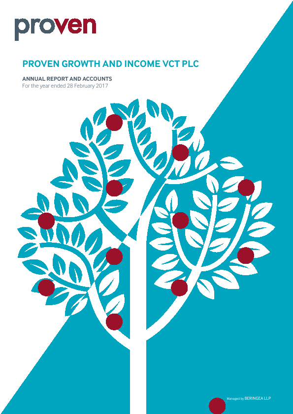 Proven Growth & Income VCT   annual report