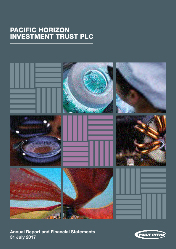 Pacific Horizon Investment Trust   annual report
