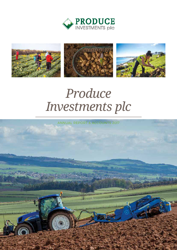 Produce Investments Plc   annual report