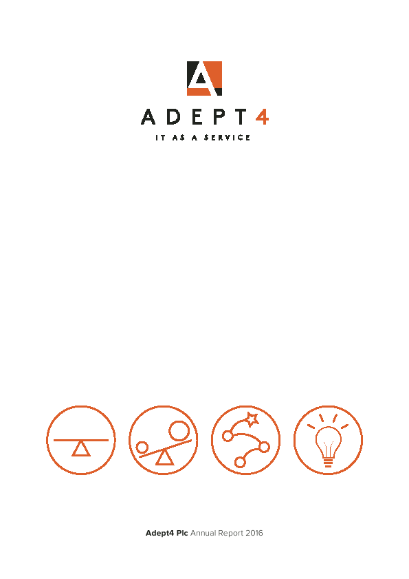 Adept4 (Previously Pinnacle Technology Group Plc   annual report