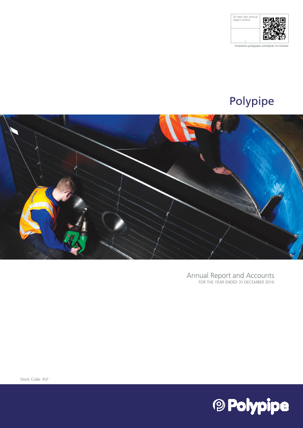 Polypipe Group Plc   annual report