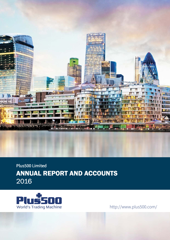 Plus500   annual report