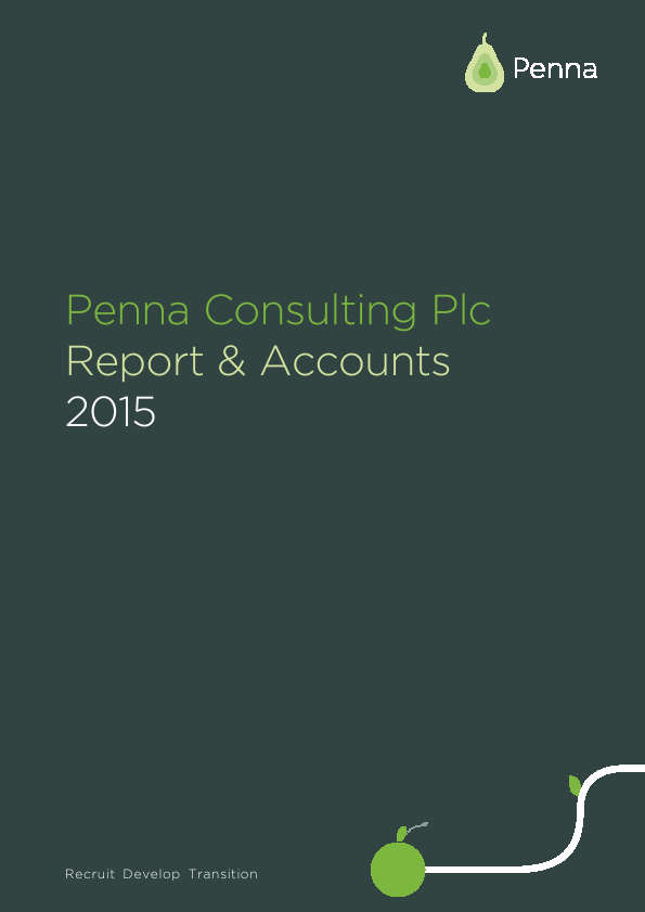 Penna Consulting   annual report