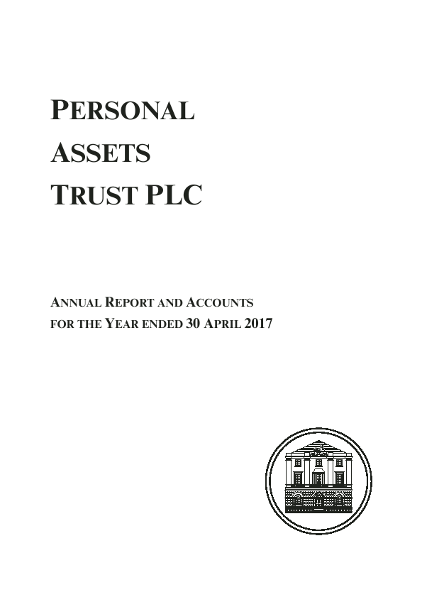 Personal Assets Trust   annual report