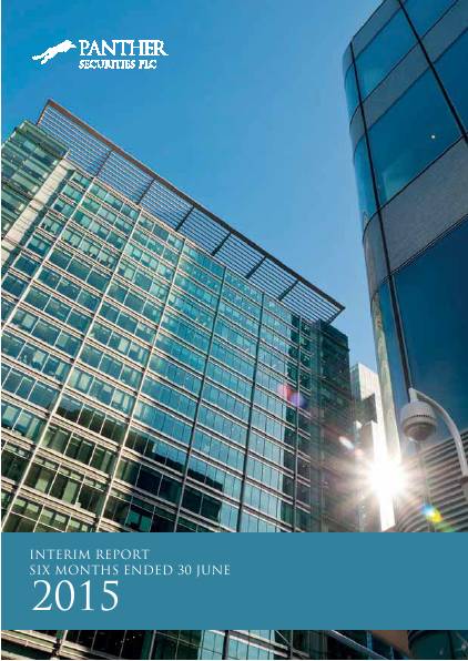 Panther Securities   annual report