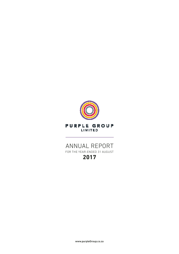 Purple Group   annual report