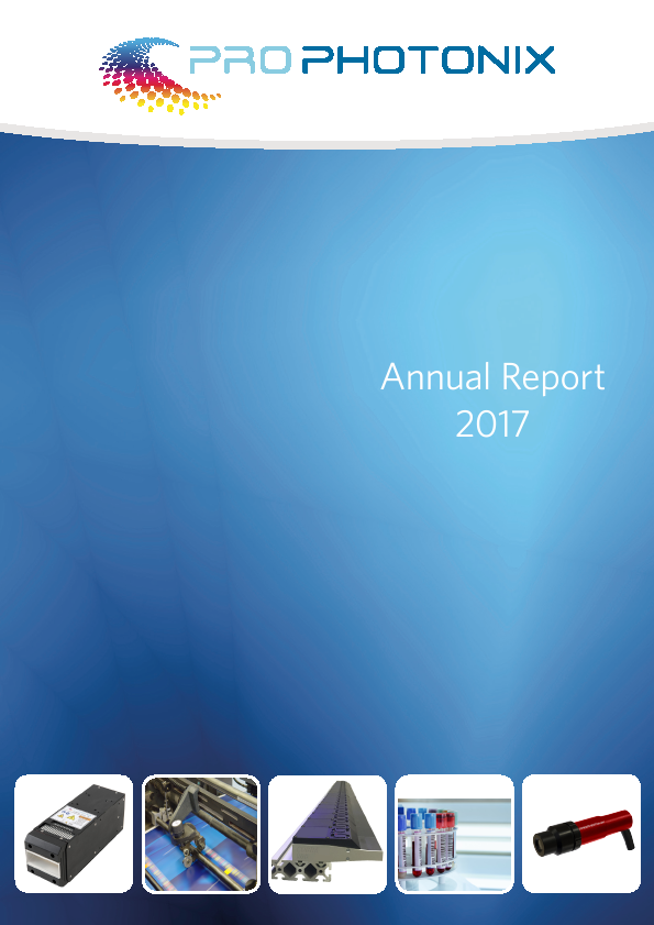 Prophotonix   annual report