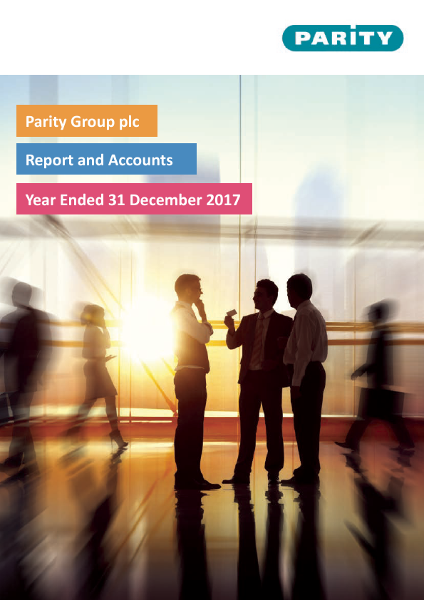 Parity Group   annual report