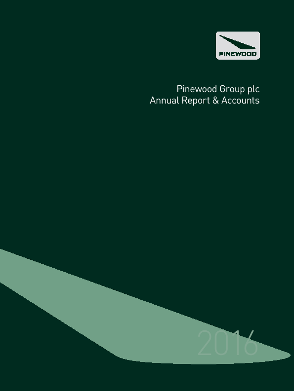 Pinewood Grp Plc   annual report