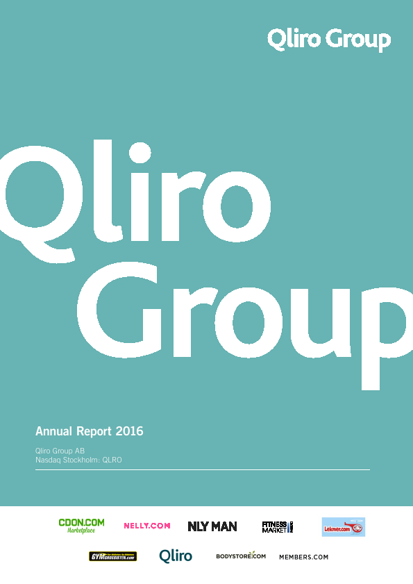 Qliro Group   annual report