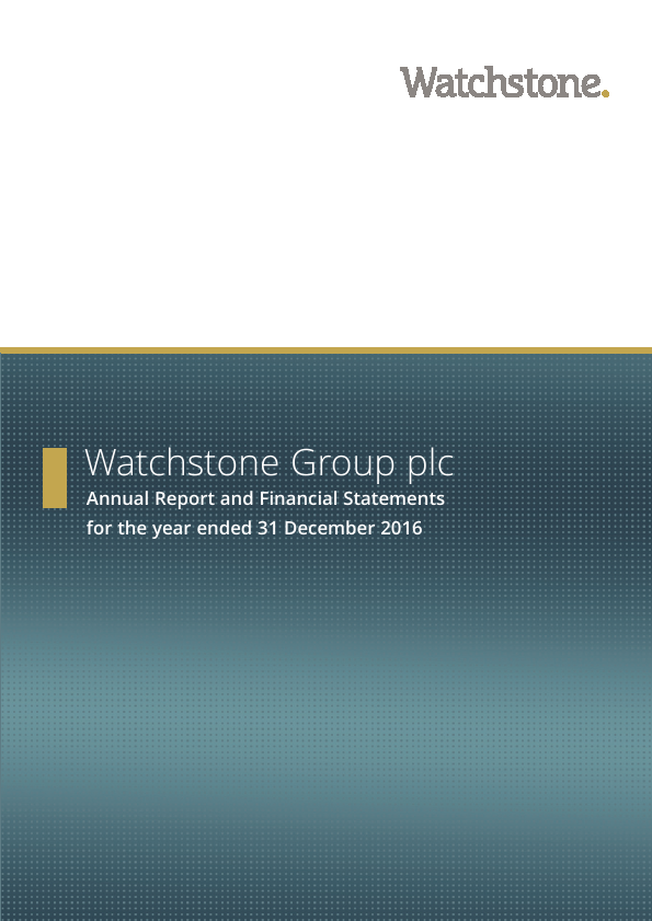 Watchstone Group (previously Quindell)   annual report