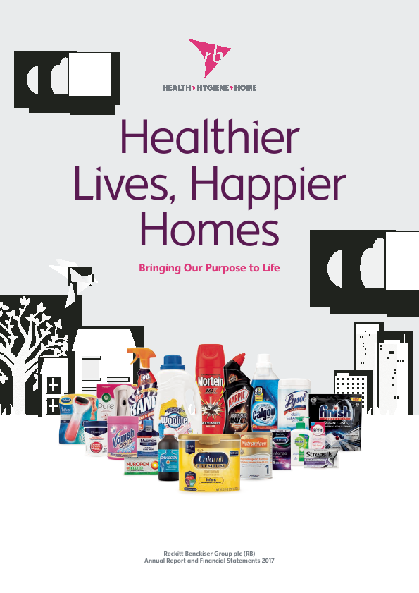 Reckitt Benckiser Group Plc   annual report