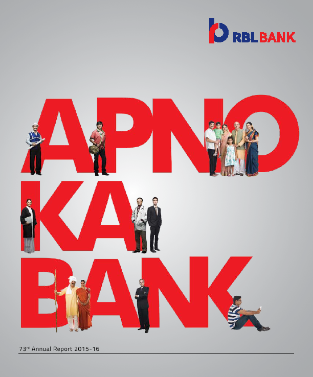 RBL Bank   annual report