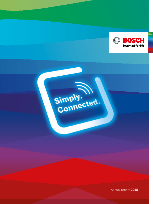 Robert Bosch   annual report