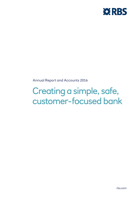 Royal Bank Of Scotland Group Plc   annual report