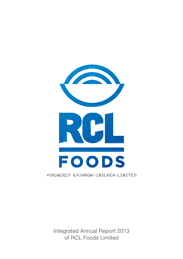 RCL Foods   annual report