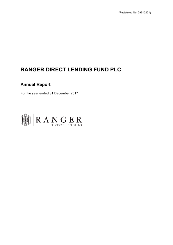 Ranger Direct Lending Fund Plc   annual report