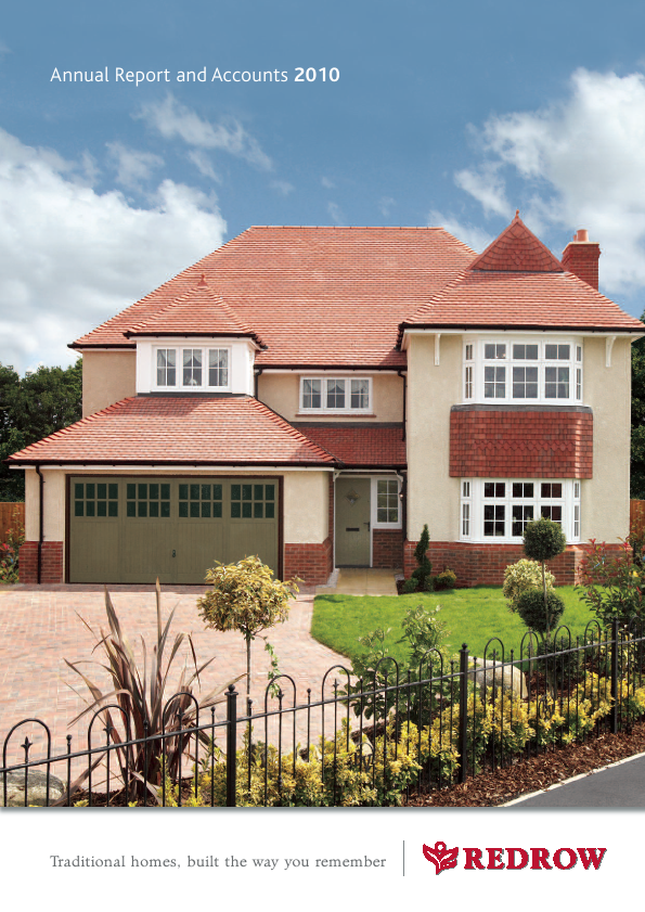 Redrow   annual report
