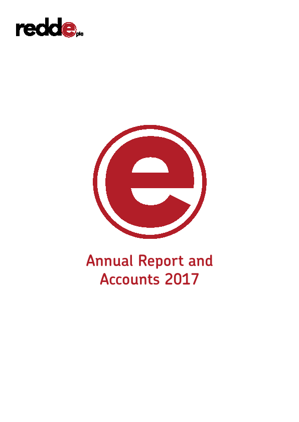 Redde Plc   annual report