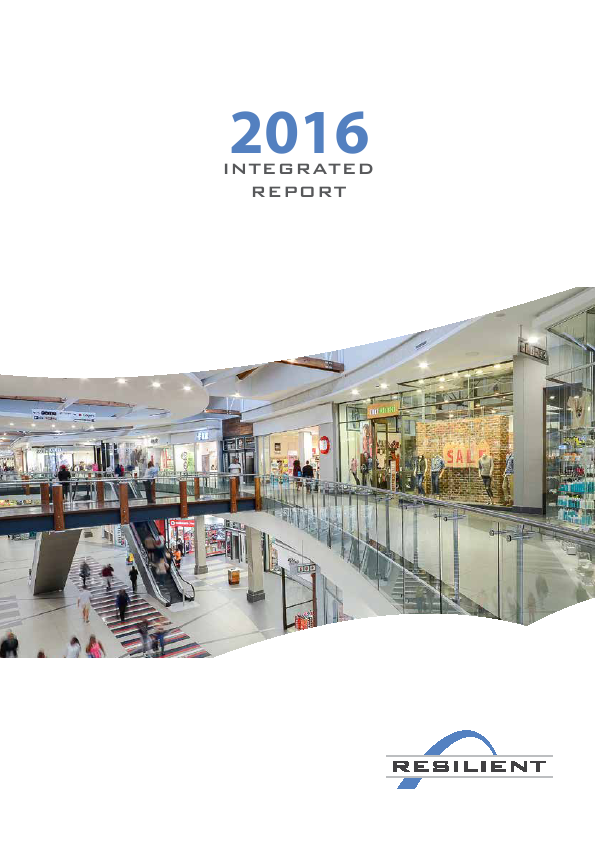 Resilient REIT Limited   annual report