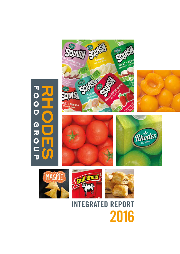 Rhodes Food Group   annual report
