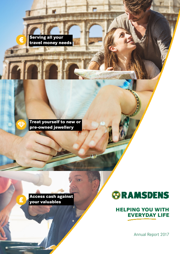 Ramsdens Holdings   annual report